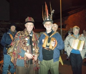 Traditional Traditional Wassailing Fun Holcombe Jan 2015